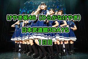 けやき坂46 ひらがなけやき ライブ 2018 日本武道館 レポ セトリ イメージ画像