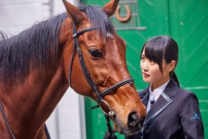 菅井友香 欅坂46 愛馬